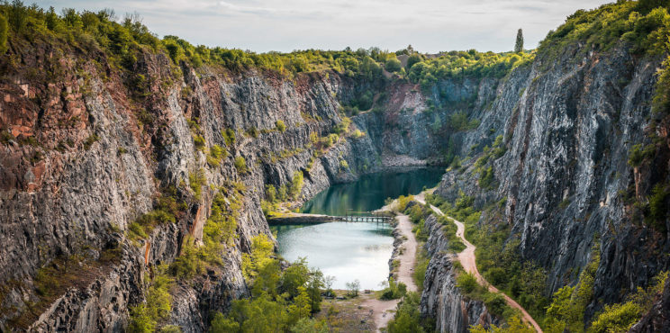 Velka Amerika Quarry, Czech Republic