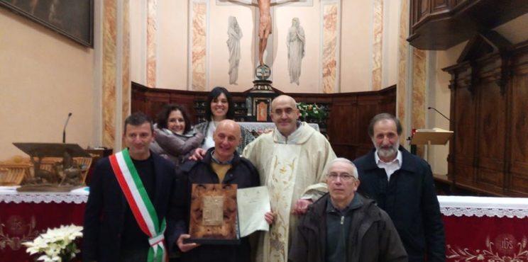 Luzzana- assegnato il Sant'Antonino d'oro