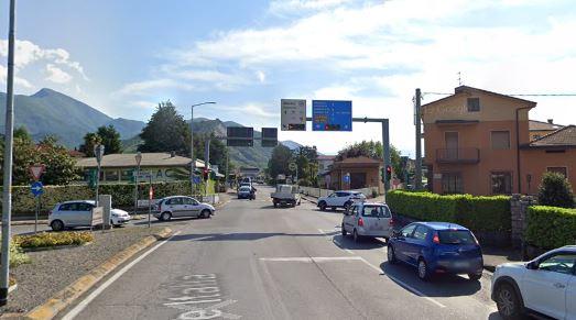Villongo – FRena l'isola pedonale tra viale Italia e via Puccini