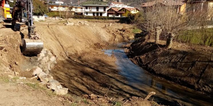 Villongo – Messa in sicurezza del Torrente Uria nel tratto a valle di Via del Risorgimento