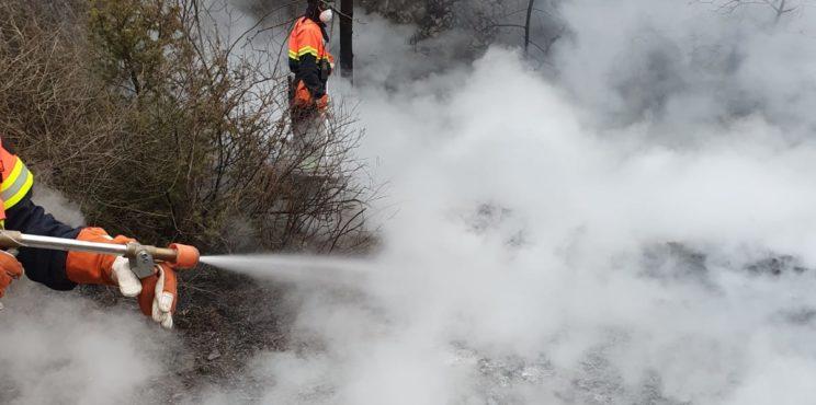 Endine – la caccia al piromane e il timore di nuovi incendi