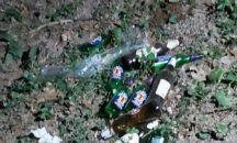 Un falò nel bosco tra Cenate Sotto e Cenate Sopra, intervengono i due sindaci e trovano una festa