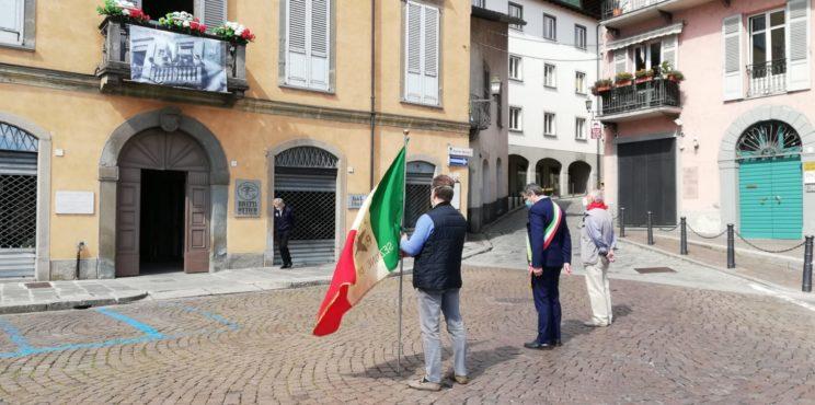 Lovere – Vie deserte per il ricordo del 25 aprile e dei partigiani loveresi
