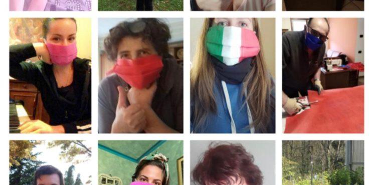 """Papa Francesco e il Presidente Mattarella scrivono alle mascherine verdi: """"Una bella iniziativa produrre mascherine per gli altri"""""""