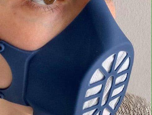 Bergamask, la maschera in silicone nata per essere donata