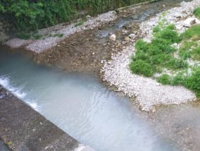 Villongo-Guerna, ancora macchie bianche nel torrente