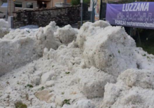 Le immagini del maltempo in valle Cavallina e sul Sebino