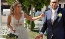 Alessandro e Maria, volontari 4 anni fa durante il terremoto, oggi sposi ad Amatrice