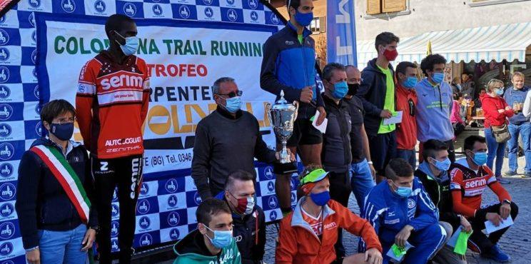 Iacopo Brasi vince la Colombina Trail