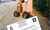 Entratico: abbandona i rifiuti alla fermata del bus, il Comune lo multa