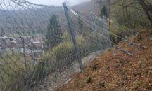 Predore: nuove reti paramasso sul versante montuoso