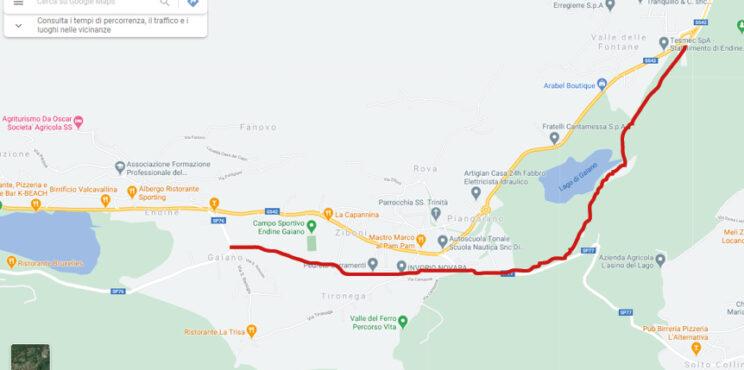 Ecco il percorso della Monaco Milano e arriva una ciclabile che sale da Riva di Solto