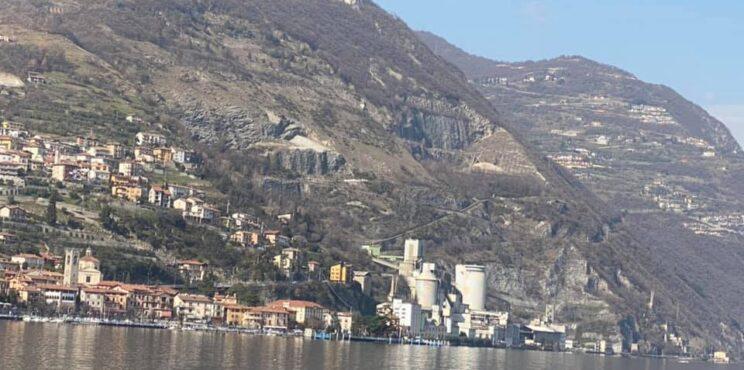 Frana di Tavernola: per lo studio della Regione tre gli scenari possibili