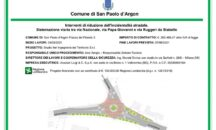 San Paolo d'Argon, una nuova rotonda sulla ex SS 42