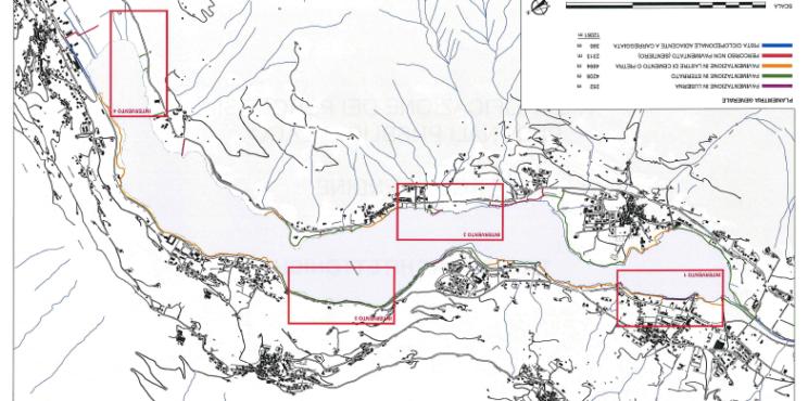 Lo studio per le nuove passeggiate sul lago, ecco dove verrà riqualificato