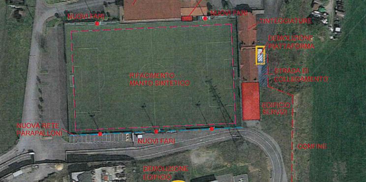 Villongo: quasi un milione di euro per riqualificare il centro sportivo