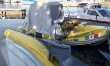 Predore, L'idroambulanza danneggiata da un atto vandalico, scatta la raccolta fondi